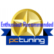 PCTuning Golden Award Enthusiast Recomended