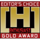 Editor's Choice: Enthusiast GOLD Award