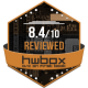 Reviewed 8,4/10 HwBox.gr