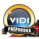 Vidi recommended award