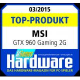 Top produkt GTX 960 GAMING 2G