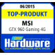 Top-Product-Award GTX 960 GAMING 4G