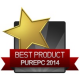 Best Product PurePC 2014 - gold PurePC.pl