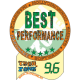 9.6/10.0 Best Performance Award