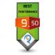 9.50/10.0 Best Performance Award Review Studio