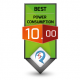 10/10 Power Consumption Award Review Studio