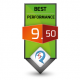 9.50/10 Best Performance Award Review Studio