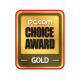 Gold Choice Award PC.com