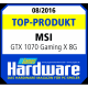 Top-Product GTX 1070 GAMING X 8G