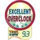 9.3/10 Excellent Overclock Award Techzone