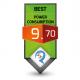 9.70/10 Power Consumption Award Review Studio