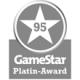 GameStar Platinum Award 95 Points Gamestar