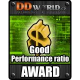DDWorld.cz Good Performance ratio AWARD