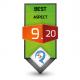 9.20/10.0 Best Aspect Award Review Studio