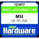 Price-Performance-Ratio Tip GK-701