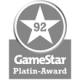 Gamestar Platin Award 92