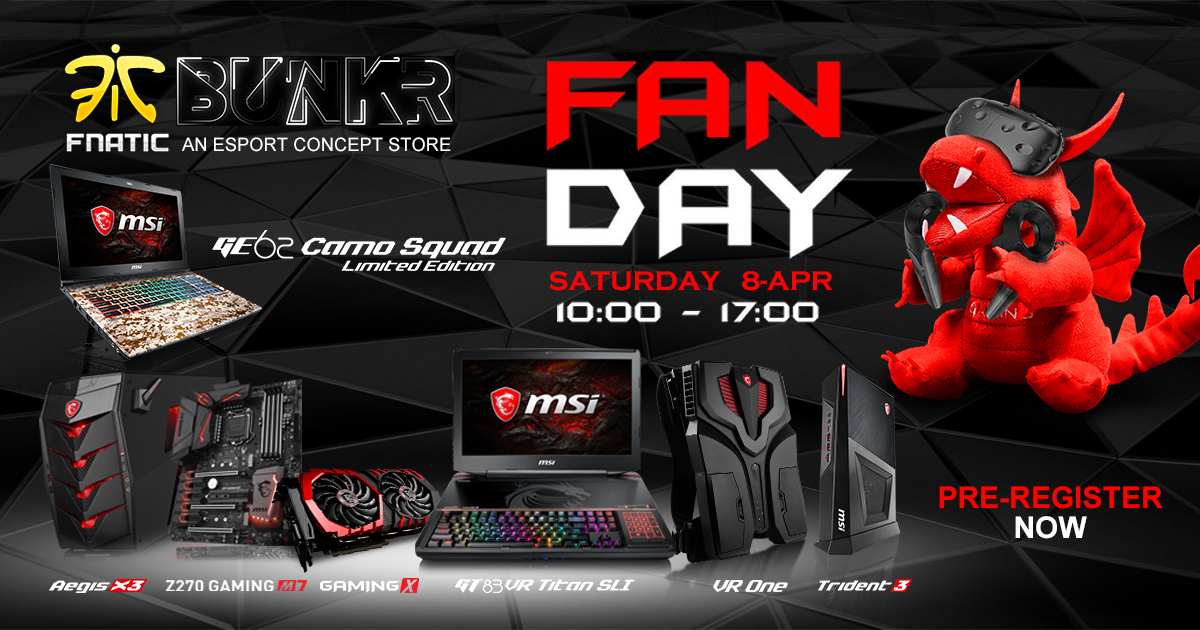 MSI Fan Day